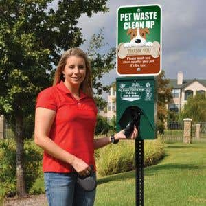 Make it EASY for residents to pick up after their pet!