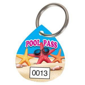 Pool Pass Kit - Seashore - Water Drop