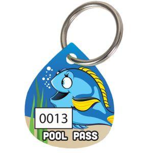 Pool Pass Kit - Water Drop - Forgetful Fish
