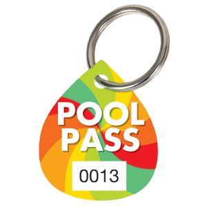 Pool Pass Kit - Color Wheel - Water Drop