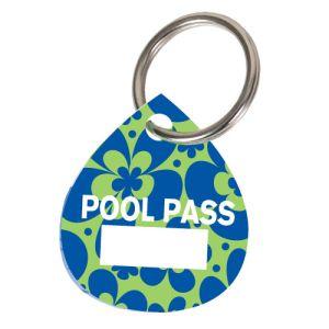 Pool Pass Kit - Blue Flowers - Water Drop