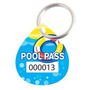 Pool Pass Kit - Life Ring - Water Drop