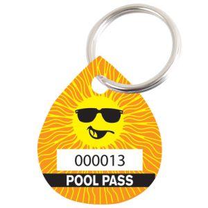 Pool Pass Kit - Sunshine - Water Drop