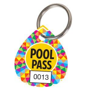 Pool Pass Kit - Geometric Sun - Water Drop