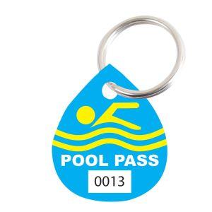 Pool Pass Kit - Swimmer - Water Drop
