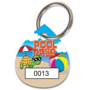 Pool Pass Kit - Cool Turtle - Water Drop