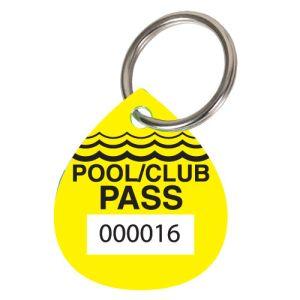 Pool Pass Kit - Yellow - Water Drop