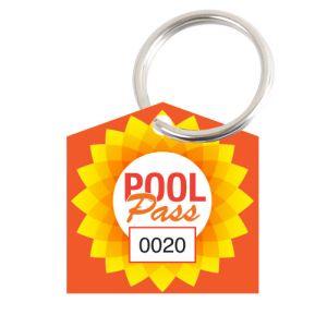 Pool Pass Kit - Summer Sun - House Shape