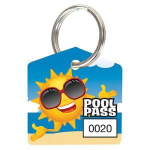 Pool Pass Kit - Fun Sun - House Shape