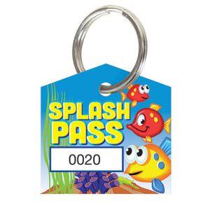 Splash Pass Kit - Fish - House Shape