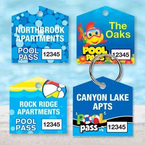 Custom Pool Pass - House - Full Custom