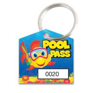Pool Pass Kit - Fish Diver - House Shape