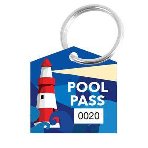 Pool Pass Kit - Lighthouse - House Shape
