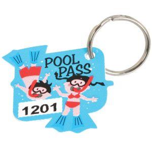 Pool Pass Kit - Swimmers - Die Cut
