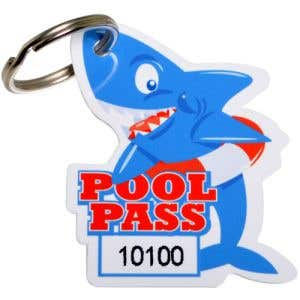 Pool Pass Kit - Shark - Die Cut