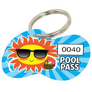 Pool Pass Kit - Die Cut - Cool Sun