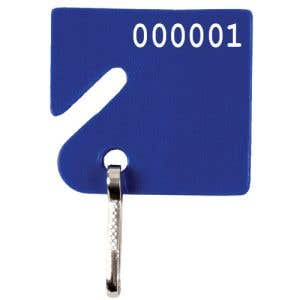 Slotted Key Tag - Numbered
