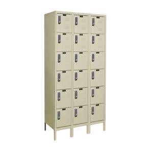 Electronic Package Triple Locker - 6 Tier