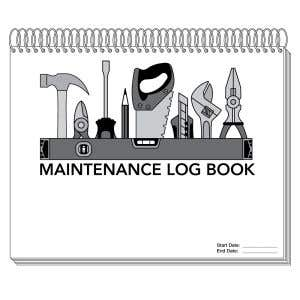 Maintenance Call Log Book