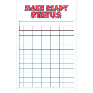 Make Ready Board - Customizable Vertical