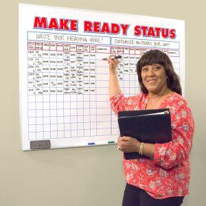 Make Ready Board - Customizable 4' x 3'