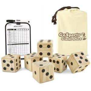 Giant Dice Game Set