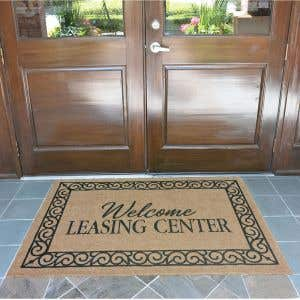 Outdoor Mats - Coco - Leasing Center - 4'x6'