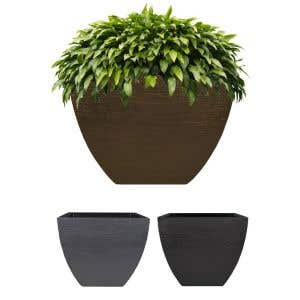 Outdoor Planters - Modern Square Planter