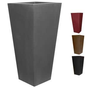 Outdoor Planters - Tall Square Planter