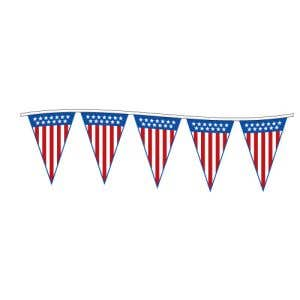 SOLD OUT - Pennant String-60' Patriotic