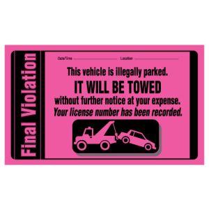 Giant Final Parking Violation