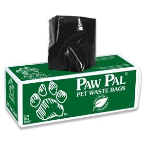 Paw Pal Recycled Pet Waste Bags on a Roll