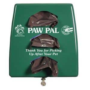 Plastic Pet Waste Dispenser with Lock