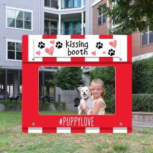 Dog Park Photo Booth - Kissing Booth