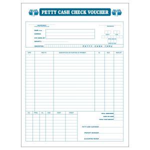 Petty Cash Voucher Envelope