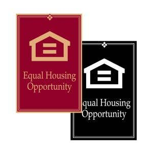 Fair Housing Signs -Wall Mount-Small Size