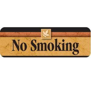 No Smoking Interior Sign Sedona Design