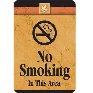 No Smoking Interior Sign Sedona Design