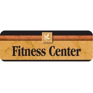 Fitness Center Interior Sign Sedona Design