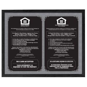 3-in-1 Fair Housing Sign