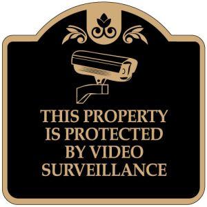 No Trespassing Signs - Camera Image - Dome