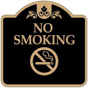 """No Smoking Signs - """"No Smoking"""" Dome"""