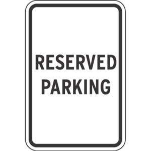 Designate spots that need to be reserved.