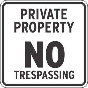 Private Property Signs -