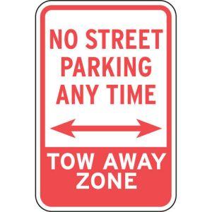 "No Parking Signs - ""No Street Parking"""