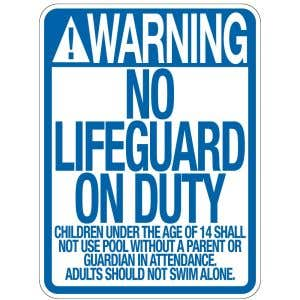 Pool Sign -