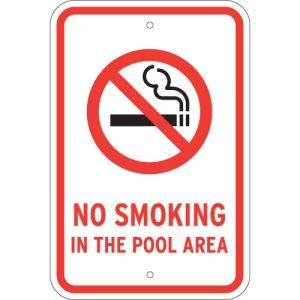 Keep smoke away from the pool area.
