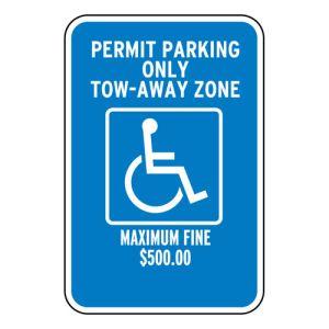 Handicap Parking Signs - Georgia