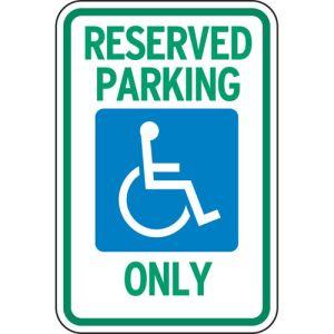 Handicap Parking Signs - Michigan
