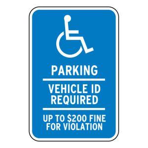 Handicap Parking Signs - Minnesota